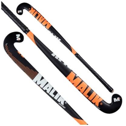 Picture of Field Hockey Stick NARANJA Indoor Wood Multi Curve - Quality: PLUTO J, Head Shape: J Turn