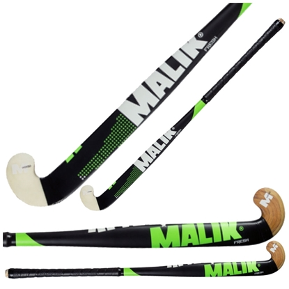 Picture of Field Hockey Stick FRESH Indoor Wood Multi Curve - Quality: MARS, Head Shape: J Turn 36.5 Inch