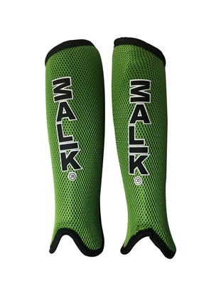 Malik Shinguards Forest Green Pair