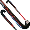 Picture of Field Hockey Stick Red Curve 90% Composite Carbon 10% Fiber Glass Extreme Low Bow - Power Curves 36.5'' Inch 37.5'' Inch