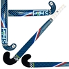 Picture of Field Hockey Stick Blue Outdoor 95% Composite Carbon  5% Kevlar Maxi Extra Low Bow Color Blue